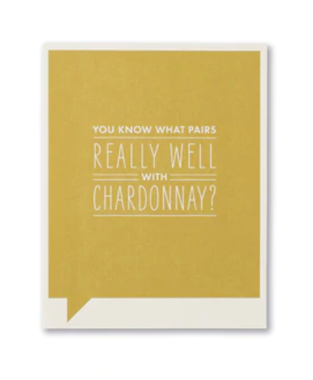 Frank & Funny Cards - REALLY WELL CHARDONNAY