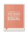 Frank & Funny Cards -THE SEXES EQUAL