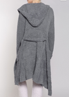 Grey Berber Fleece Robe