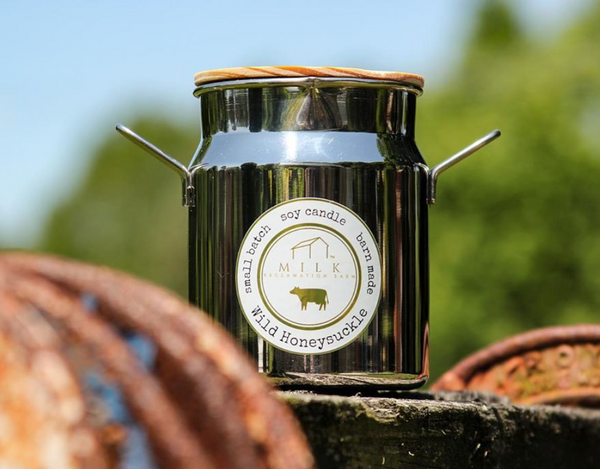 Milk Churn Candle- Steeplechase