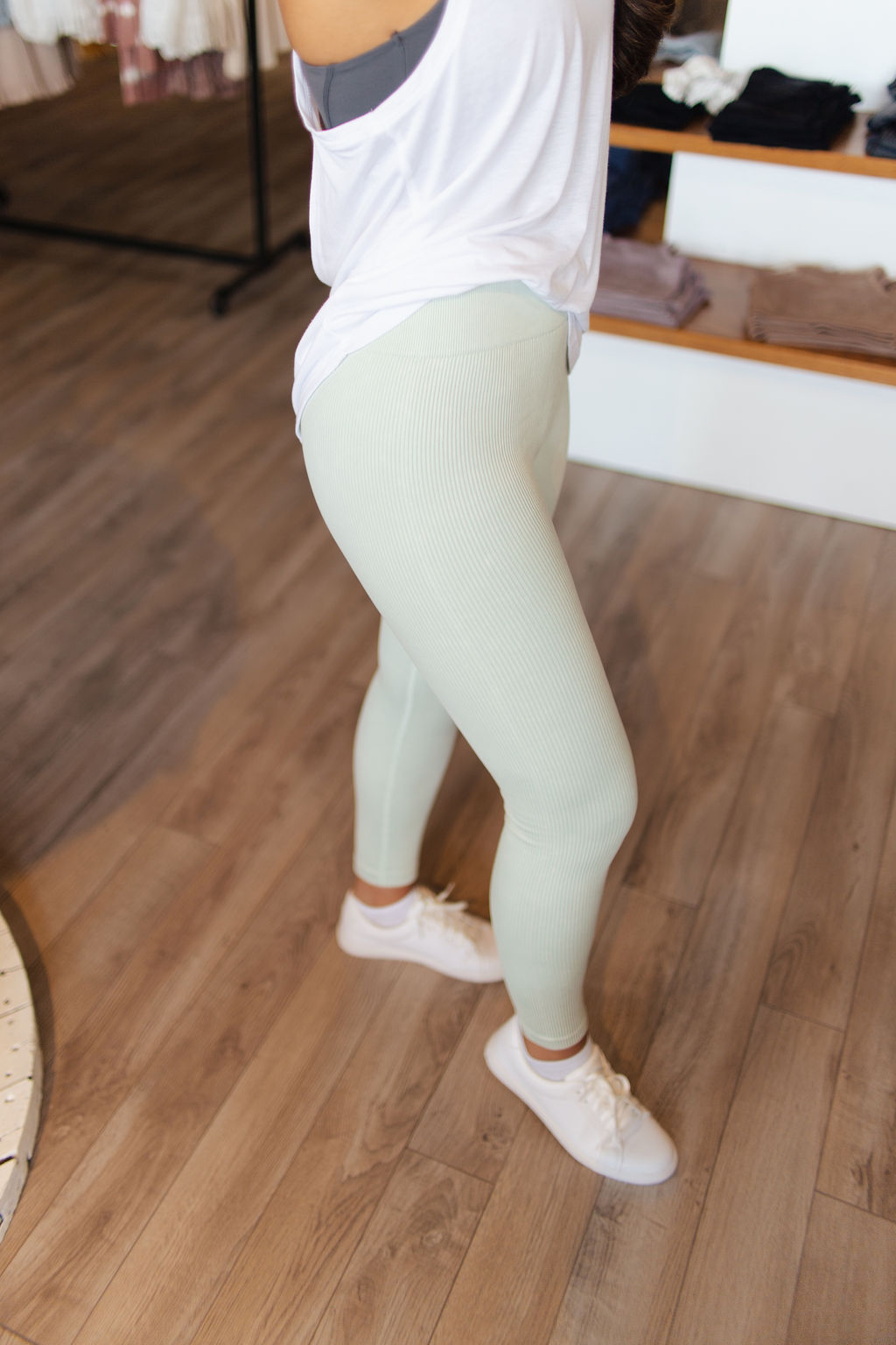 Surf Spray Ribbed Mineral Wash Leggings