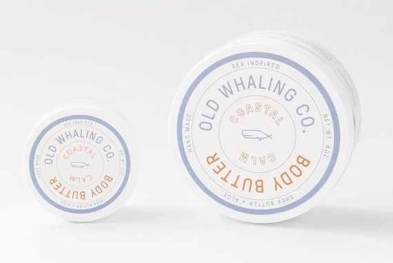 Coastal Calm - 8 oz. Body Butter - Old Whaling Co.
