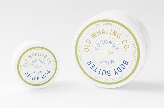 Coconut Milk - 8 oz. Body Butter - Old Whaling Co.