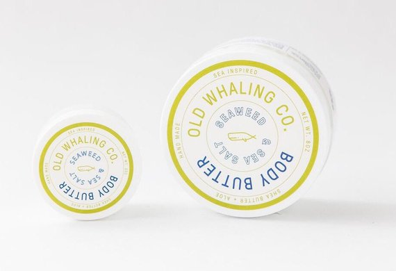 Seaweed and Sea Salt - 8 oz. Body Butter - Old Whaling Co.