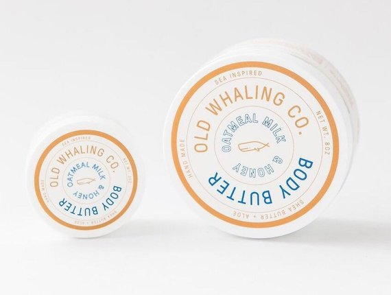 Oatmeal Milk and Honey - 2 oz. Body Butter - Old Whaling Co.