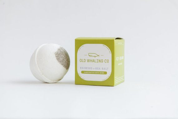 Seaweed and Sea Salt - Bath Bomb - Old Whaling Co.
