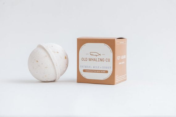 Oatmeal Milk and Honey - Bath Bomb - Old Whaling Co.