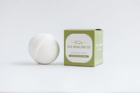 Coconut Milk - Bath Bomb - Old Whaling Co.