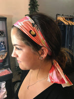 Pink and Orange Floral- Give by Grace Headband