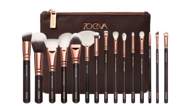 Zoeva complete rose gold set