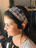 Pink and Grey Tie-Dye- Give by Grace Headband