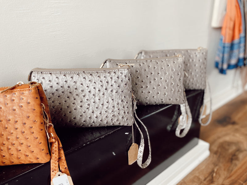 The Teddi Bag - Silver