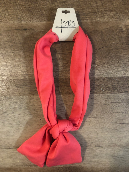 Coral - Give By Grace Headband