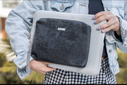 TWINPACK GRAY-TEXTURE BLACK LARGE LAPTOP