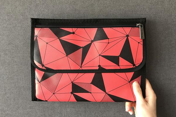 Ozpack Cubic Red Tablet Sleeve Front