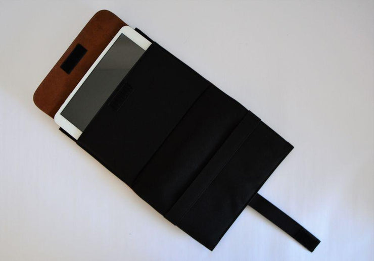 Ozpack Business Dark Brown Mini Tablet Sleeve Interior