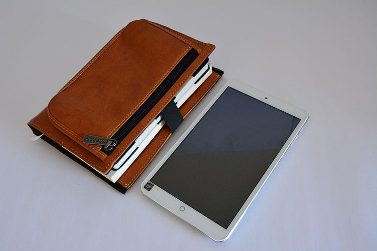 Ozpack Business Light Brown Mini Tablet Sleeve
