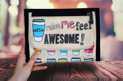 Ozpack Coffee Mini Tablet Kılıfı Ön