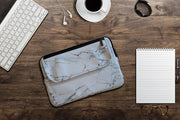 Ozpack Executive Marble White Large Laptop Bag Front