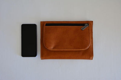 Ozpack Business Light Brown Mini Tablet Sleeve Front