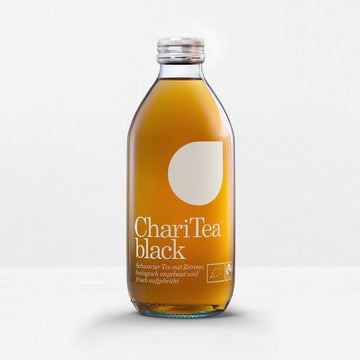 Organic ChariTea black and green iced tea