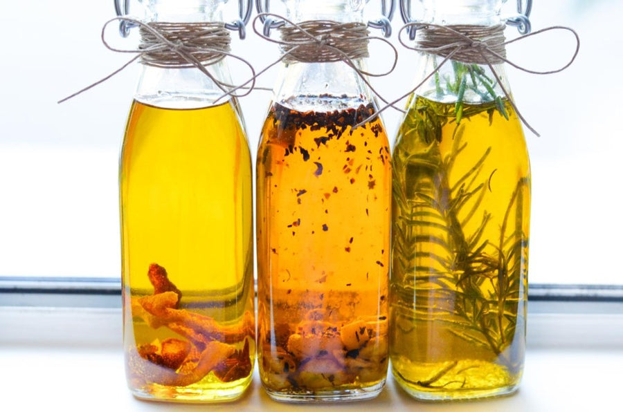 Infused oils and salts