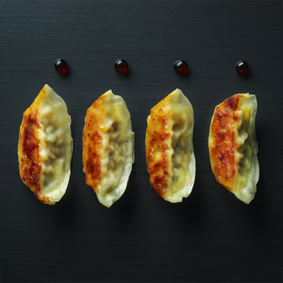 Gyoza & sweet chilli pot