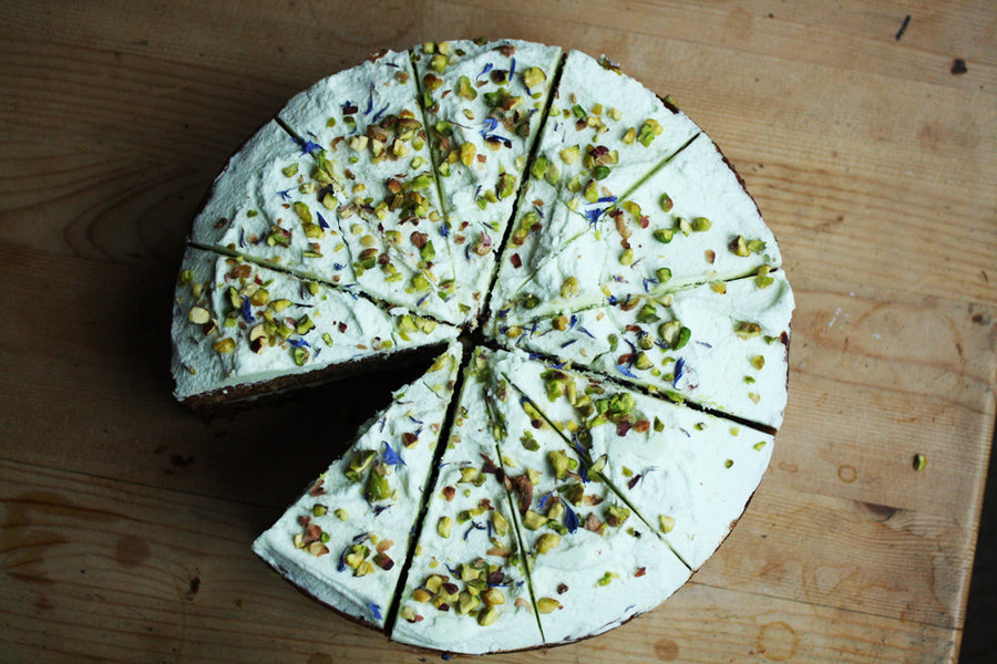 Whole Gluten-free Avocado Cake
