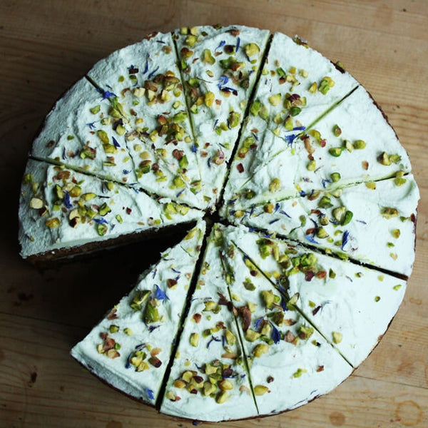 Avocado and Courgette Cake Gluten Free