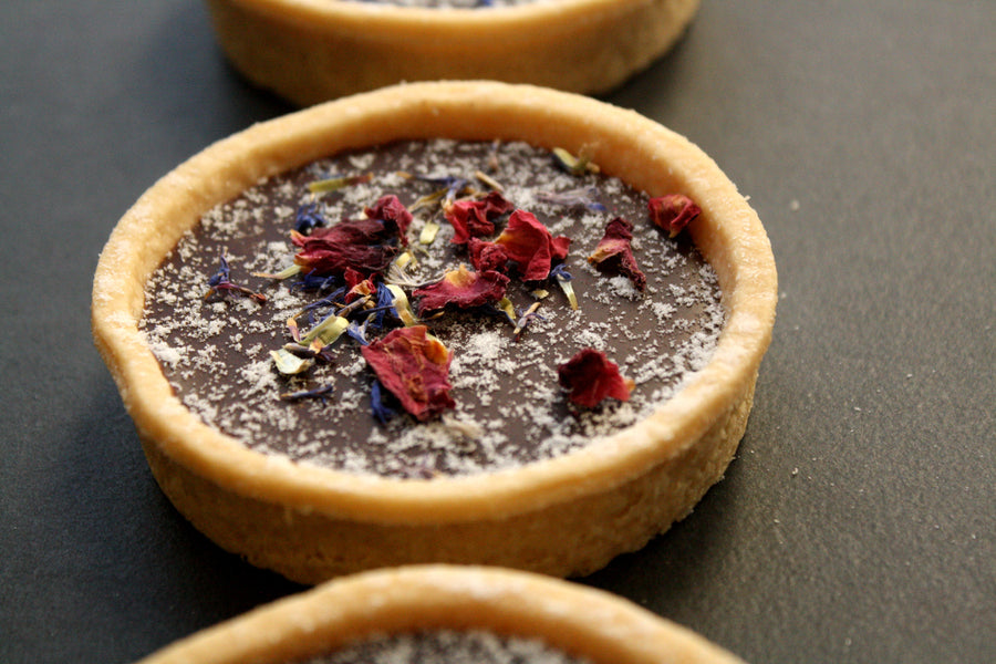 Honesty Vegan Chocolate & Orange Tart