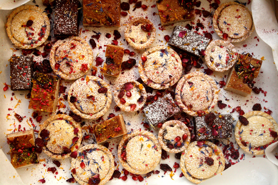 Festive sweet treat platter