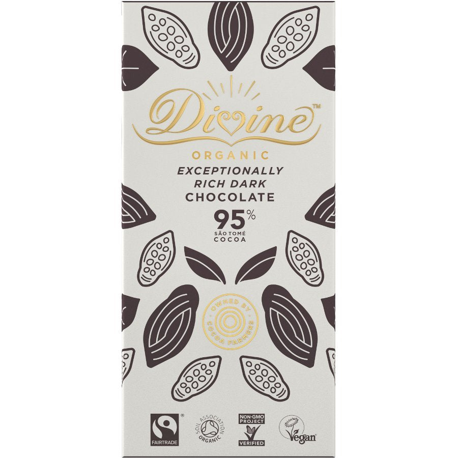 Divine Dark Chocolate 95%