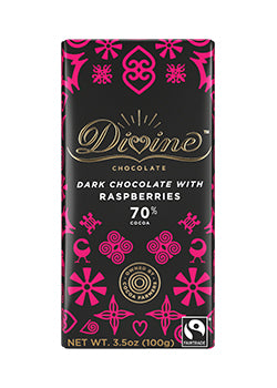 Divine Dark Chocolate and Raspberry