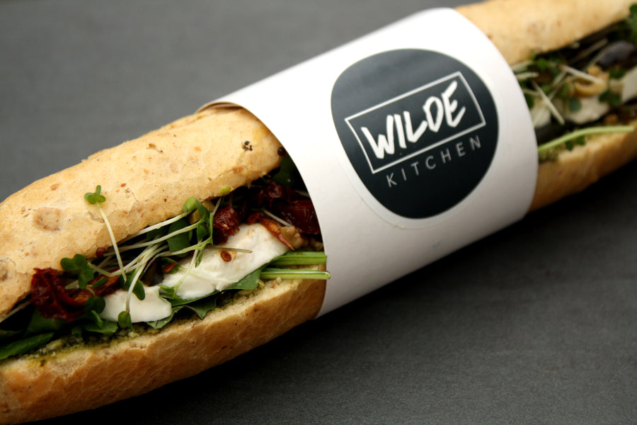 Mozzarella and Tapenade Baguette