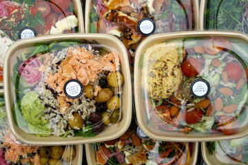 Individual Salad Box Selection