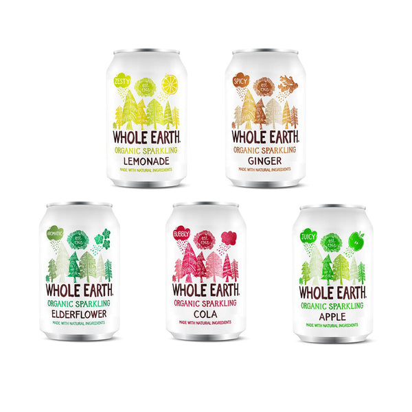 Whole Earth Oganic Sparkling Drink 330ml