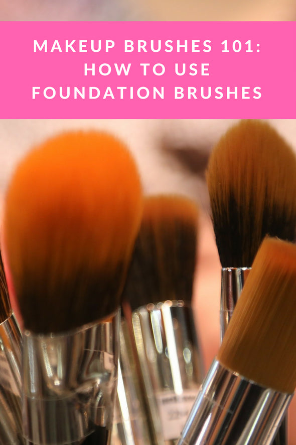 Makeup Brushes 101: How To Use Foundation Brushes
