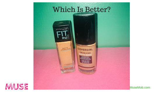 Which Is Better Maybelline FITMe or CoverGirl TrueBlend