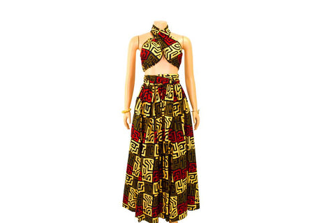 "Dashiki Tribal Set ""Amara"""
