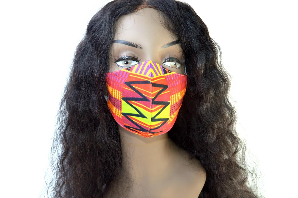 "Tribal Face Mask ""Sanaa"""