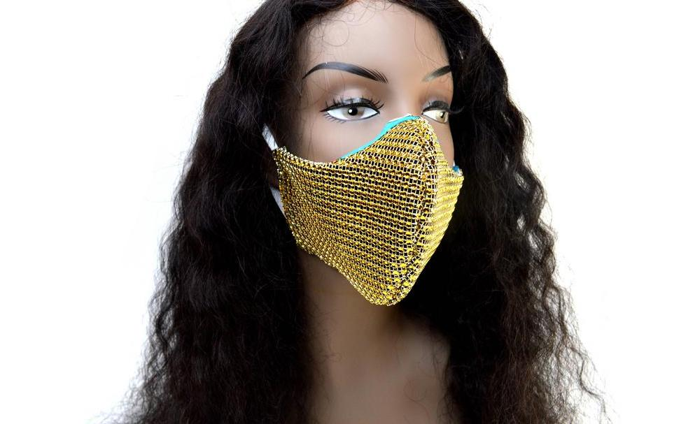 Golden Bettie Protective Face Mask
