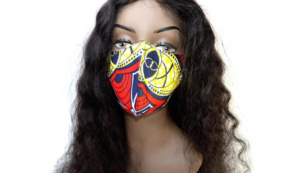"Tribal Face Mask ""Queen Soul"""