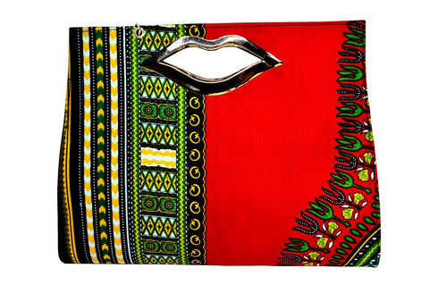 Dashiki Kiss Handbag