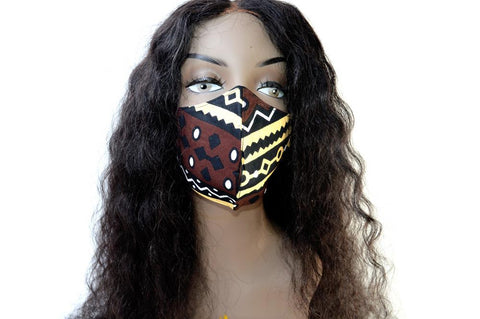 "Tribal Face Mask ""Makena"""