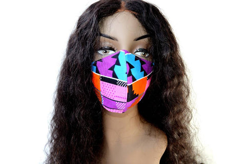 "Tribal Face Mask ""JoJo"""