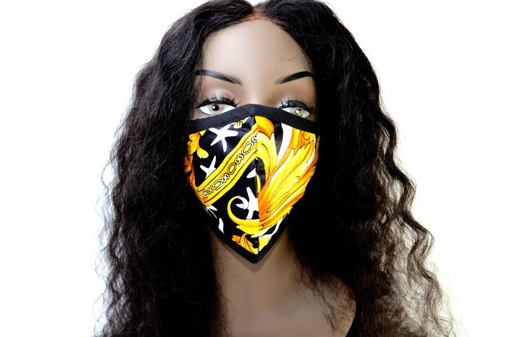 "Tribal Face Mask ""Sade"""