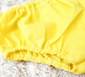 yellow bloomers