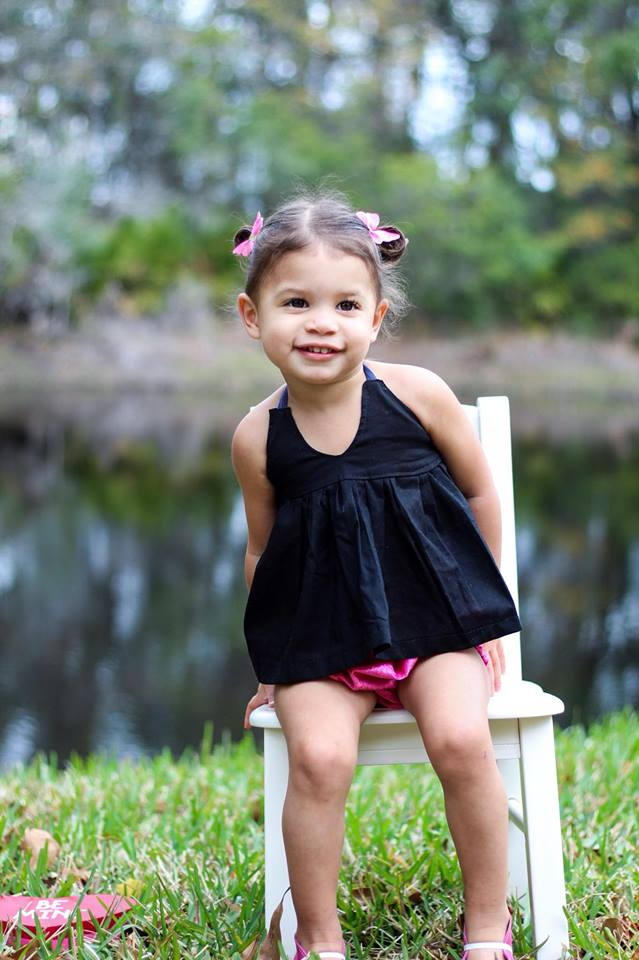 black peplum- baby girl- solid- little black- tunic