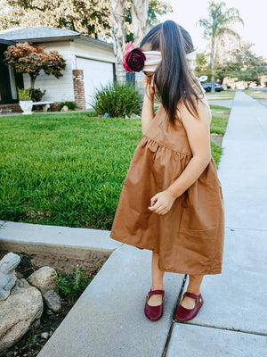 Chestnut Halter Dress