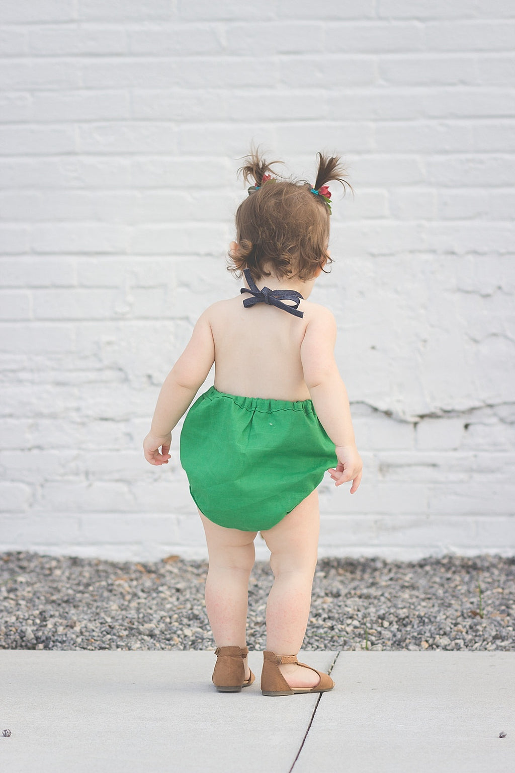 Kelly Green Solid Bloomers